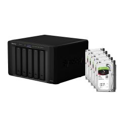 Synology DS1515 NAS System 5-Bay 10TB inkl. 5x 2TB Seagate ST2000VN004 Bild0