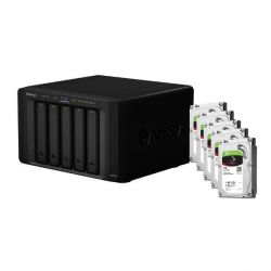 Synology DS1515 NAS System 5-Bay 20TB inkl. 5x 4TB Seagate ST4000VN008 Bild0