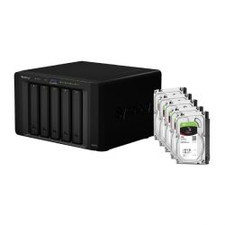 Synology DS1515 NAS System 5-Bay 15TB inkl. 5x 3TB Seagate ST3000VN007 Bild0