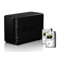 Synology DS216 NAS System 2-Bay 6TB inkl. 2x 3TB Seagate ST3000VN007 Bild0