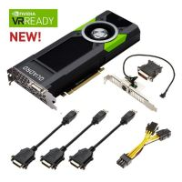 PNY NVIDIA Quadro P6000 24GB PCIe 3.0 Workstation Grafikkarte 4x DP/DVI - Retail