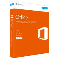Microsoft Office Home & Business 2016, 1PC PKC (P2) englisch