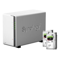 Synology DS216j NAS System 2-Bay 4TB inkl. 2x 2TB Seagate ST2000VN004 Bild0