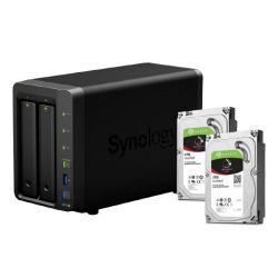 Synology DS716+II NAS System 2-Bay 8TB inkl. 2x 4TB Seagate ST4000VN008 Bild0