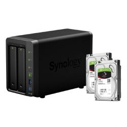 Synology DS716+II NAS System 2-Bay 6TB inkl. 2x 3TB Seagate ST3000VN007 Bild0