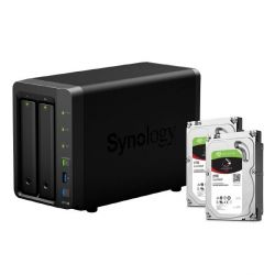 Synology DS716+II NAS System 2-Bay 4TB inkl. 2x 2TB Seagate ST2000VN004 Bild0