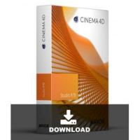 Maxon Cinema 4D R19 Studio Lizenz Upgrade from C4D Broadcast R19 to Studio R19
