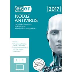 ESET NOD32 Antivirus 2017 Edition 1 User (FFP) Bild0