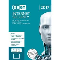 ESET Internet Security 2017 Edition 1 User (FFP) Bild0