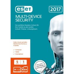 ESET Multi-Device Security 2017 Edition 5 User (FFP) Bild0
