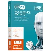 ESET Multi-Device Security 2017 Edition 5 User (Minibox)