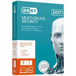 ESET Multi-Device Security 2017 Edition 5 User (Minibox) Bild0
