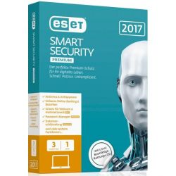 ESET Smart Security Premium 2017 Edition 3 User (Minibox) Bild0