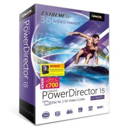 CyberLink PowerDirector 15 Ultimate Suite (Minibox) Bild0