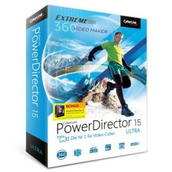CyberLink PowerDirector 15 Ultra (Minibox) Bild0