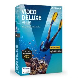 MAGIX Video deluxe Plus 2017 (Minibox) Bild0