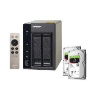 QNAP TS-253A-8G NAS System 2-Bay 2TB inkl. 2x 1TB Seagate ST1000VN002