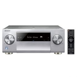 Pioneer SC-LX501 7.2 AV Receiver 4K Airplay Bluetooth WiFi Dolby Atmos silber Bild0