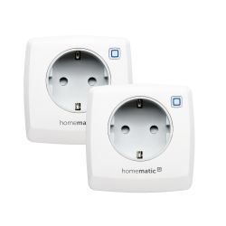 Homematic IP 2er Set Schaltsteckdose HMIP-PS Bild0