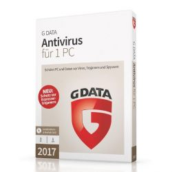 G DATA Antivirus 2017 1 PC (Minibox) Bild0