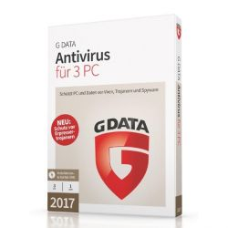 G DATA Antivirus 2017 3 PC (Minibox) Bild0