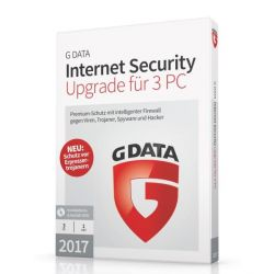 G DATA Internet Security 2017 Upgrade 3 PC (Minibox) Bild0