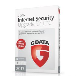 G DATA Internet Security 2017 Upgrade 1 PC (Minibox) Bild0