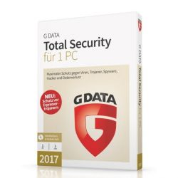 G DATA Total Security 2017 1 PC (Minibox) Bild0