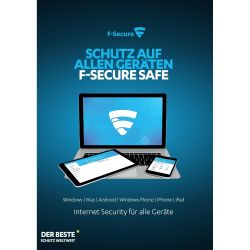 F-Secure SAFE Internet Security 1 Jahr /5 Geräte Minibox Bild0