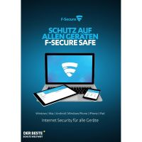 F-Secure SAFE Internet Security / 1 Jahr / 1 Gerät
