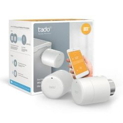 tado Starter Kit - 2x Smart Heizkörperthermostate + Internet Bridge Bild0