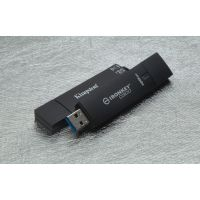 Kingston 4GB IronKey D300 USB3.0 - Stick wasserdicht Metallgehäuse 256Bit AES