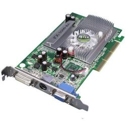 Axle GeForce FX 5500 256MB DDR AGP Grafikkarte VGA/DVI/TV - Retail  Bild0