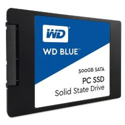 "WD Blue SSD 500GB SLC/TLC SATA 6Gb/s 2.5""/7mm Bild0"