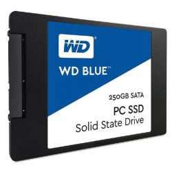 "WD Blue SSD 250GB SLC/TLC SATA 6Gb/s 2,5""/7mm Bild0"