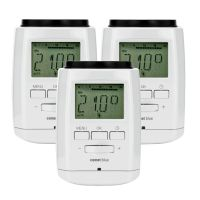 EUROtronic 3er Set COMET blue bluetooth Heizkörperthermostat weiß