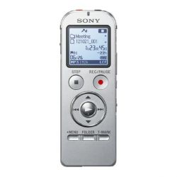 Sony ICD-UX533S 4GB Digitaler Voice Recorder grau Bild0