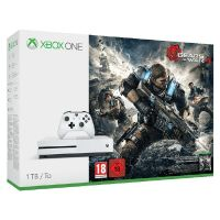 Microsoft Xbox One S Konsole 1TB Gears of War 4 Bundle FSK18