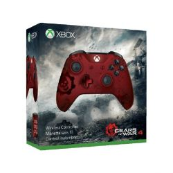 Microsoft Xbox One Wireless Controller Gears of War Design Crimson Omen Bild0