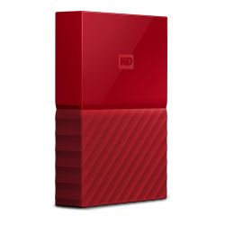 WD My Passport USB3.0 4TB 2.5zoll - Rot NEW Bild0