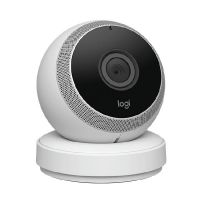 Logi Circle Wifi-Kamera Bluetooth 1080p weiß