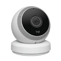 Logi Circle Wifi-Kamera Bluetooth 1080p weiß Bild0