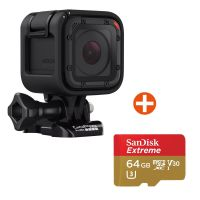 GoPro HERO Session Action Cam mit 64 GB Speicherkarte