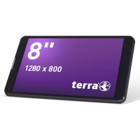 TERRA PAD 803 Tablet WiFi 3G 16 GB Android 4.4 schwarz