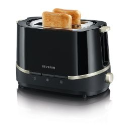 Severin AT 2290 Automatik Toaster SELECT Schwarz Bild0