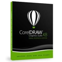 CorelDRAW Graphics Suite X8 DE - Small Business Edition DVD