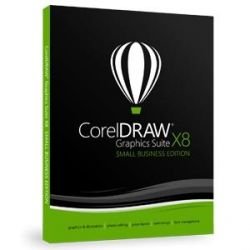 CorelDRAW Graphics Suite X8 DE - Small Business Edition DVD Bild0