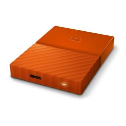 WD My Passport USB3.0 1TB 2.5zoll - Orange NEW Bild0