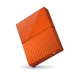 WD My Passport USB3.0 4TB 2.5zoll - Orange NEW Bild0