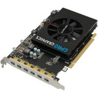Sapphire AMD GPro 6200 4GB GDDR5 6x MiniDP Grafikkarte (Brown Box)